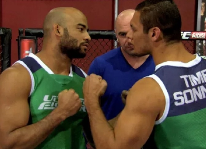 Warlley Alves e Marcio Lyoto se encaram antes da final do TUF Brasil 3