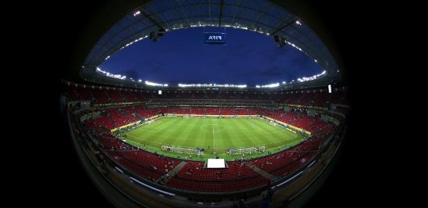 Arena Pernambuco fica na região de Recife; custou cerca de R$ 800 milhões