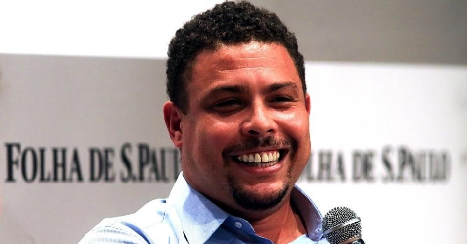 Ronaldo encarou a sabatina do jornal Folha de S. Paulo nesta quinta-feira (29.05.14)