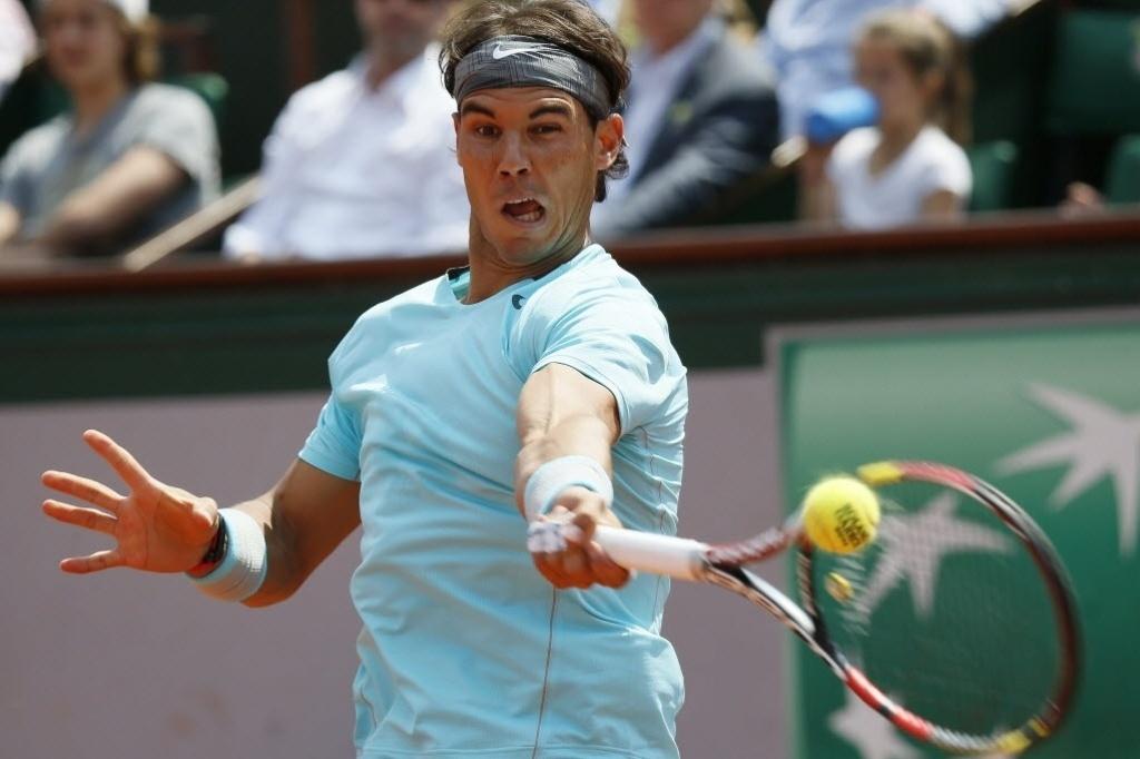 Rafael Nadal joga na terceira rodada de Roland Garros contra o argentino Leonardo Mayer
