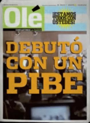 Jornal argentino faz piada sobre iniciação sexual de Pelé:
