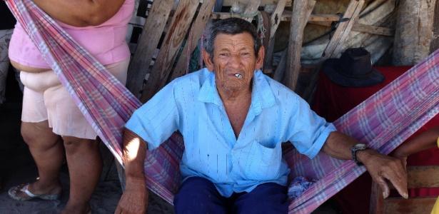 Seu Franciné tem três esposas e 51 filhos e mora no interior do Ceará