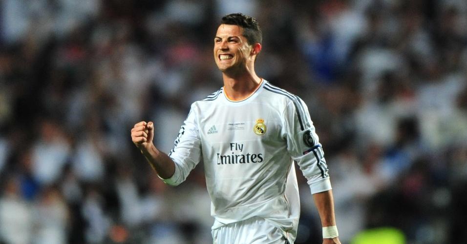 Gatos da Copa: Cristiano Ronaldo comemora