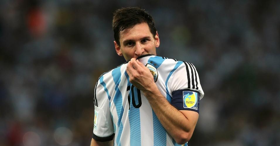 A Bósnia-Herzegóvina dificultou a vida da Argentina, mas Messi marcou um belo gol no segundo tempo na vitória por 2 a 1