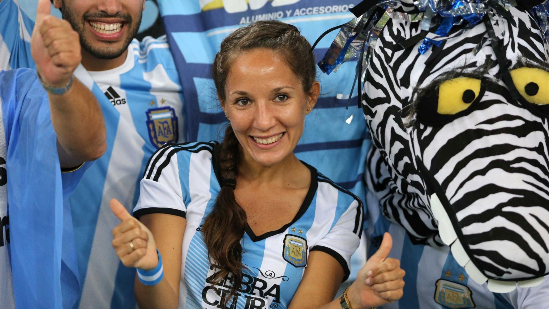 Argentina mostra confiança no Maracanã antes do jogo contra a Bósnia