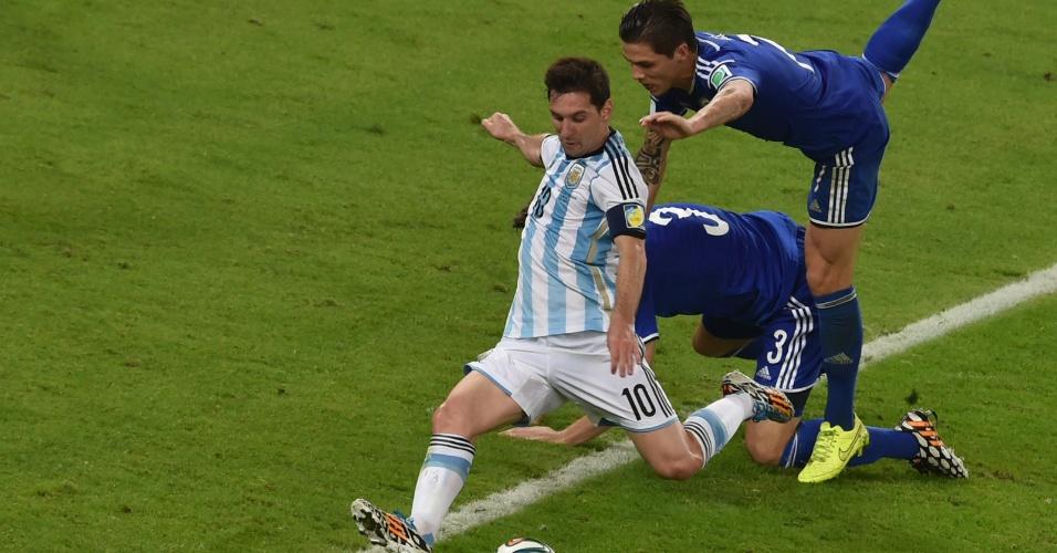 Messi deixa marcadores da Bósnia para trás em marca o segundo da Argentina no Maracanã