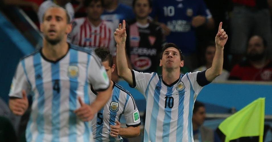 Messi marca o segundo da Argentina na estreia da Copa, contra a Bósnia-Herzegóvina, no Maracanã