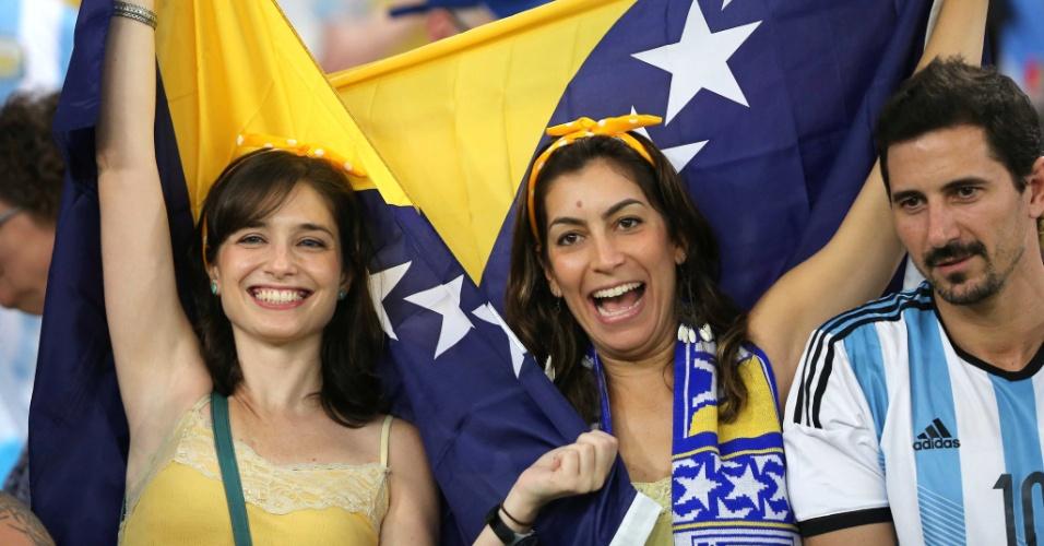 Torcida da Bósnia mostra que está à altura da beleza das argentinas e brasileiras