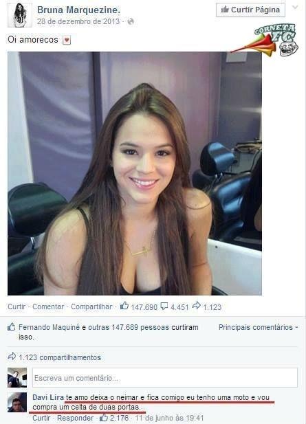 Bruna Marquezine recebe proposta indecente de outro homem