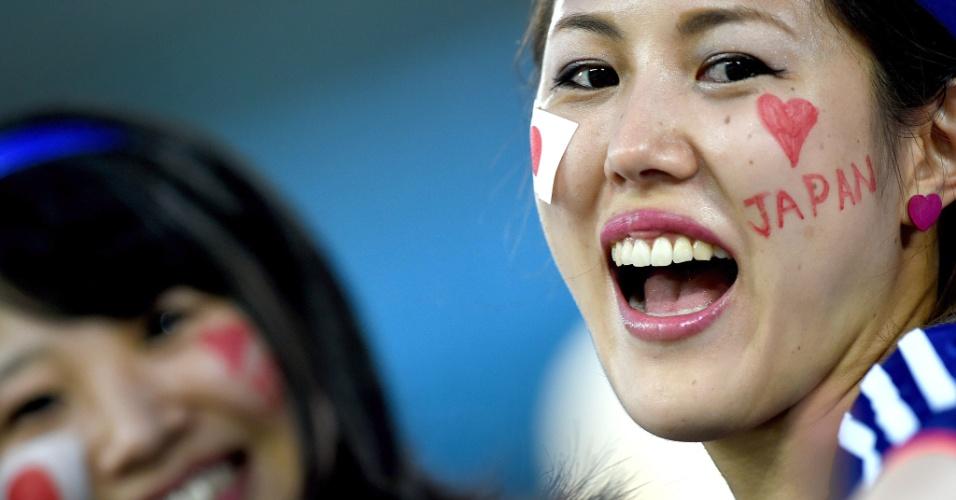Torcedoras do Japão começam a chegar para o decisivo duelo contra a Grécia, na Arena das Dunas, em Natal