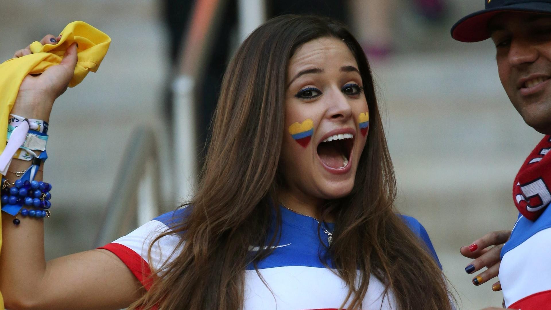 Depois de assistir às vitórias dos Estados Unidos contra Gana e da Colômbia em cima da Grécia, ela viu Portugal empatar no último lance da partida e frustrar os americanos em Manaus