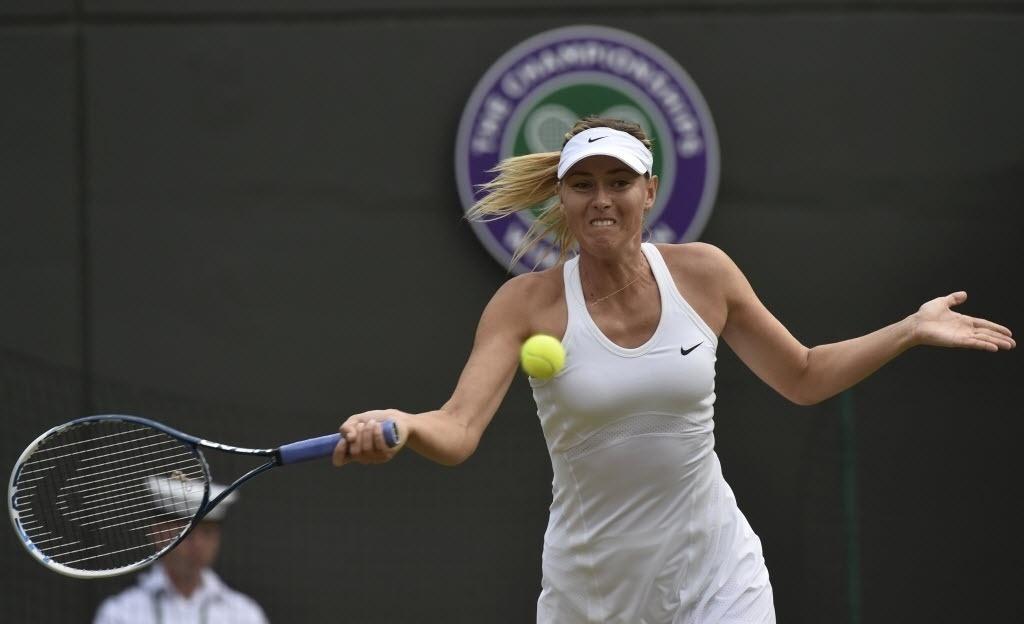 Maria Sharapova enfrenta Timea Bacsinszky nesta quinta-feira