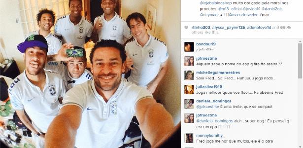Selfie feita um dia antes da Copa foi para as redes sociais. Dunga orientou elenco a controlar internet para não gerar qualquer insinuação de descompromisso