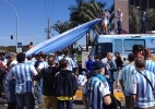 Latino-americanos se mostram relutantes em torcer para a Argentina