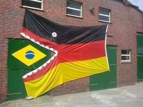 Alemães já estão tirando onda com o Brasil na internet