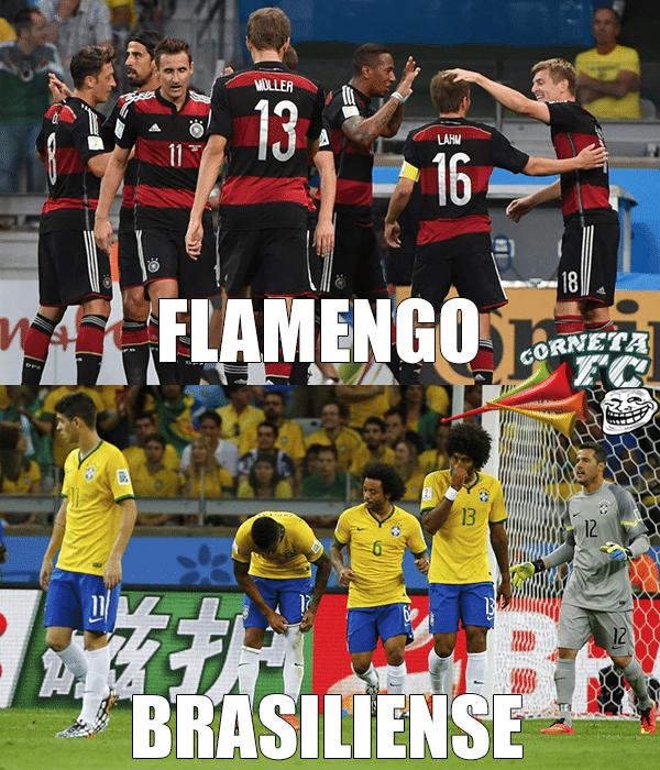 Cada um com seu time: Alemanha é Flamengo e Brasil, Brasiliense