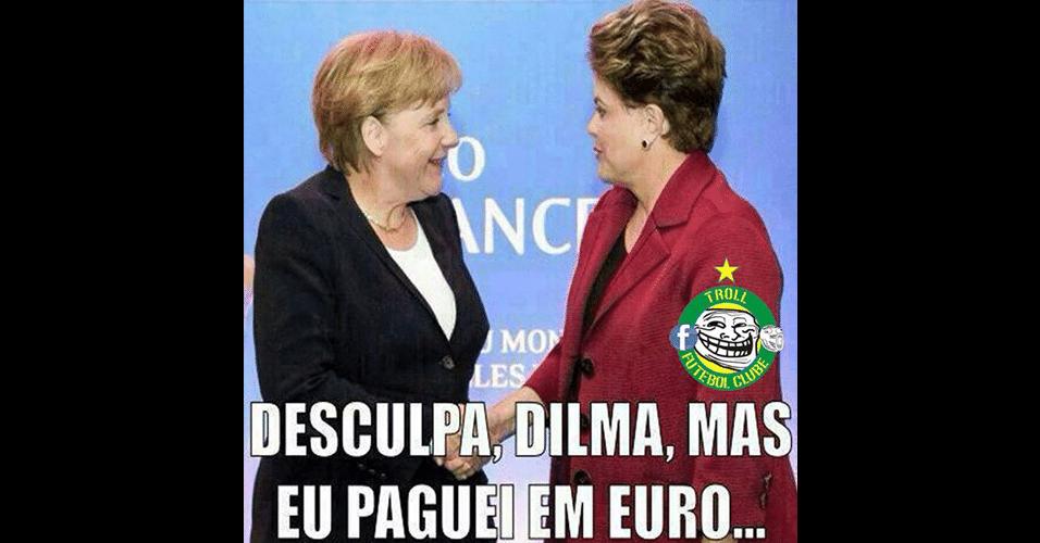 Dilma bem que tentou comprar a Copa, mas...