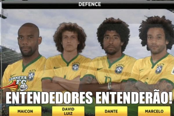 Falta de cabelo de Maicon desequilibra a zaga do Brasil
