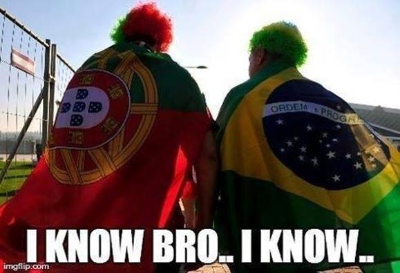 Portugal foi goleado por 4 a 0 pela Alemanha no início da Copa