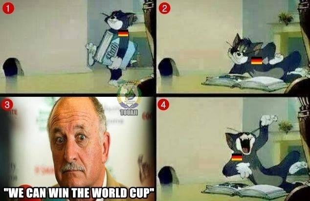 O Brasil pode ganhar a Copa? O Tom achou graça...