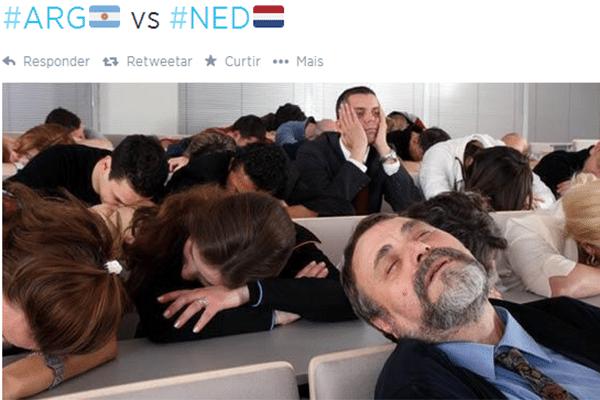 Resumo do jogo entre Holanda e Argentina pelas semifinais