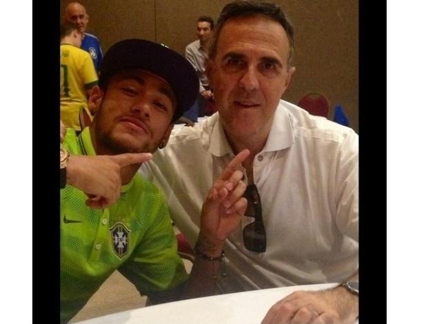 Agente do atacante Neymar, Wagner Ribeiro já empresariou Kaká e Robinho