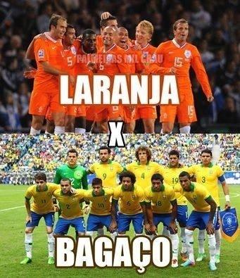 Laranja x Bagaço na disputa de terceiro lugar da Copa