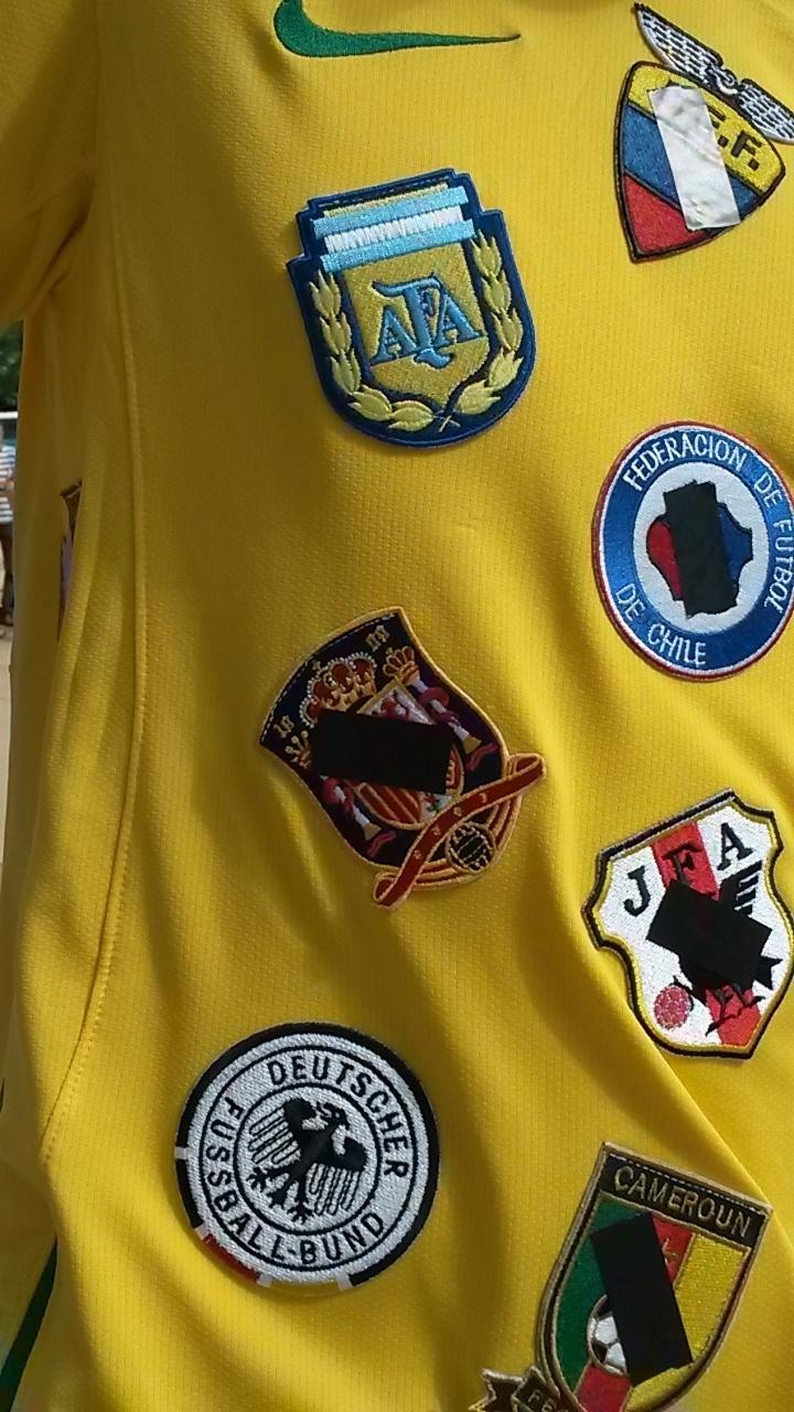 Neozelandeses contam história da Copa em camisa e frustram-se com o Brasil