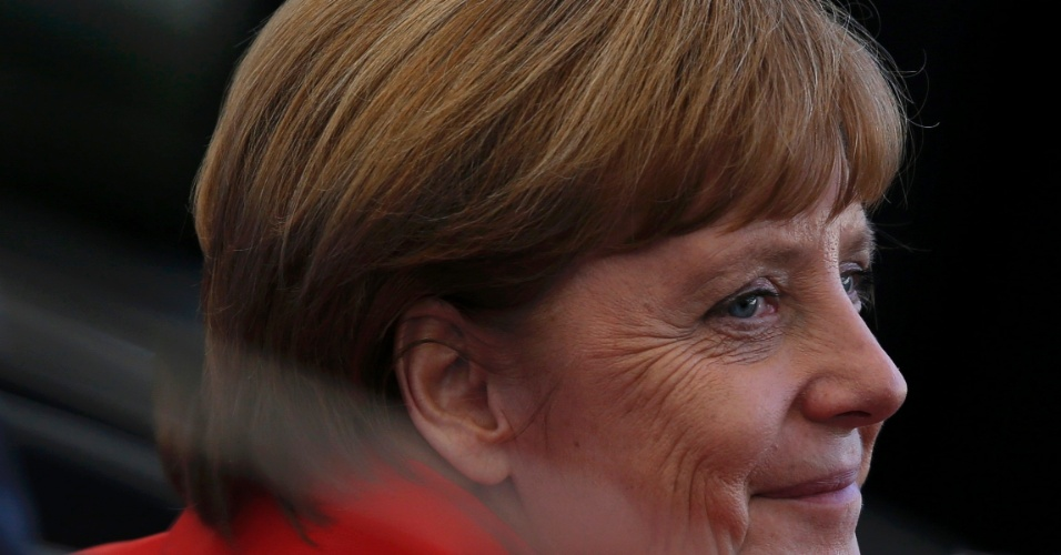 Chanceler Angela Merkel está no Maracanã para a final da Copa do Mundo