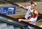Público acompanha decisão da Copa do Mundo em bares da Vila Madalena, em São Paulo - Paulo Anshowinhas / UOL