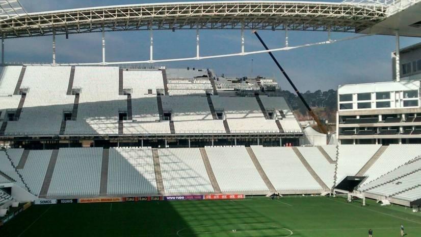 Assentos do Itaquerão são removidos após a Copa do Mundo