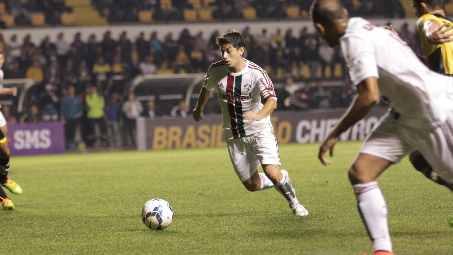 Conca arma jogada para o Fluminense em duelo com o Criciúma