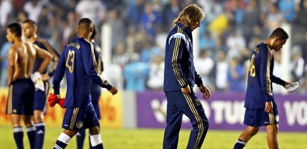Ricardo Gareca não fala sobre o risco de rebaixamento e foca na próxima partida do Palmeiras