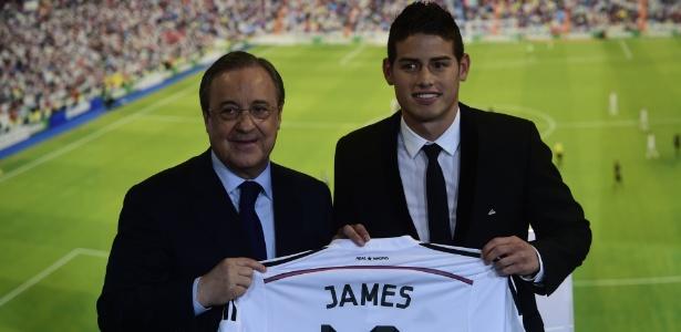 Colombiano chegou ao Real Madrid após a Copa do Mundo de 2014