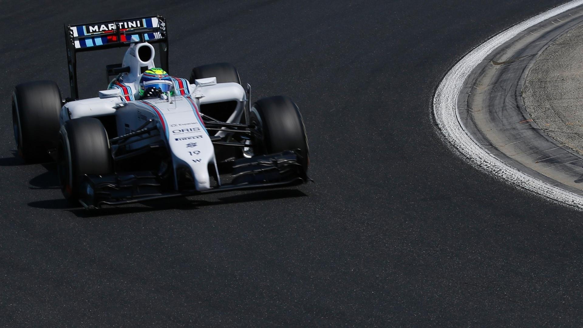 25.jul.2014 - Felipe Massa participa do treino livre para o GP da Hungria, no circuito de Hungaroring, em Budapeste