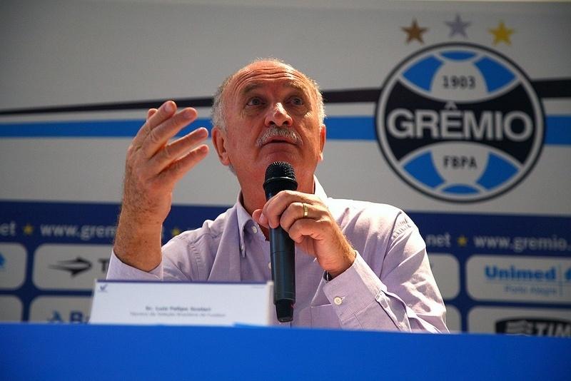 Felipão fala em evento do Grêmio, e pode assumir o comando do time imediatament
