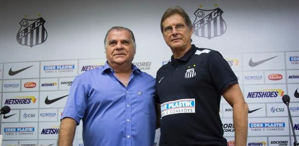 O técnico Oswaldo de Oliveira está preocupado com o ano eleitoral do Santos