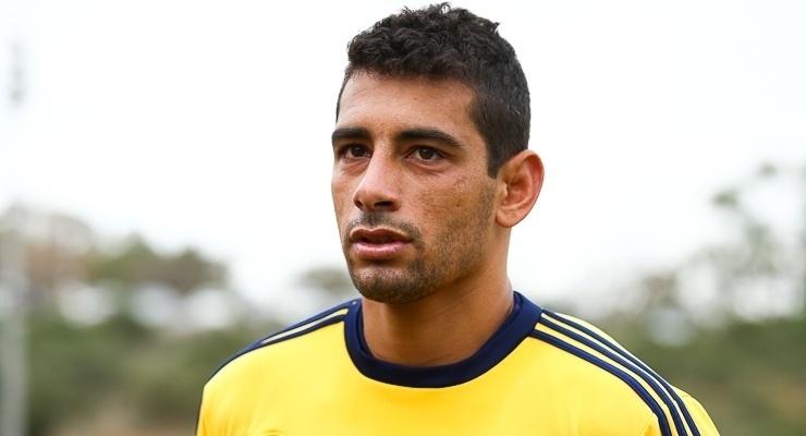 Diego Souza defendeu o Metalist no primeiro semestre de 2014