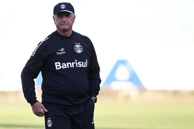 15 ago 2014 - Felipão fechou treinamento do Grêmio para dar broncas com liberdade