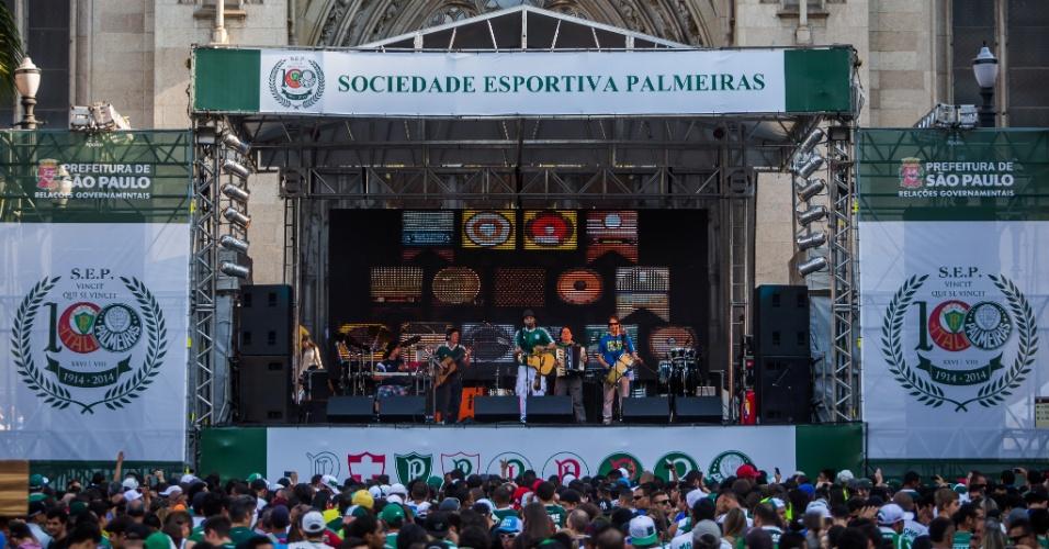 Palmeiras vende 24,5 mil ingressos e deve ter casa cheia contra o Inter