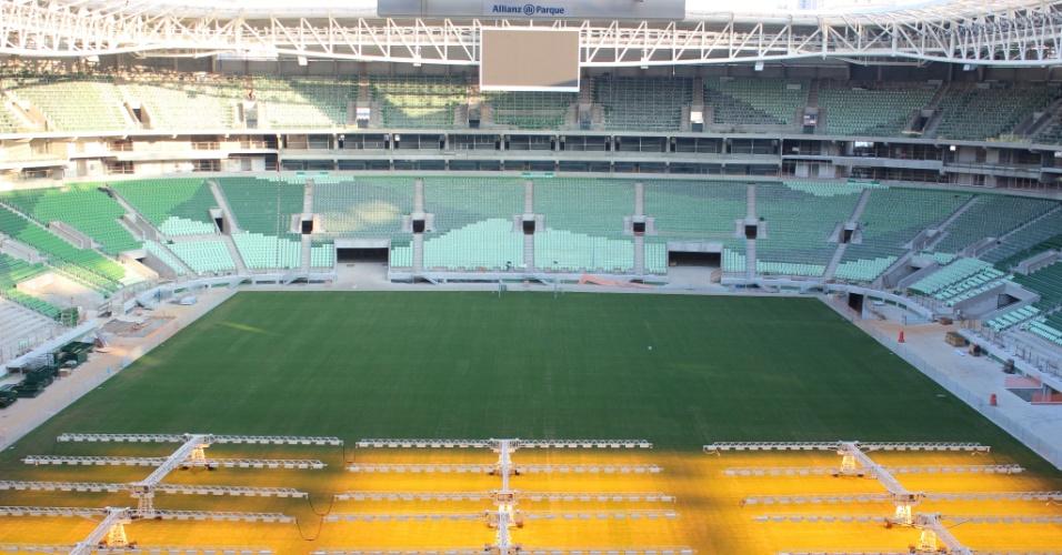 Estádio do Palmeiras já está praticamente pronto para receber jogos