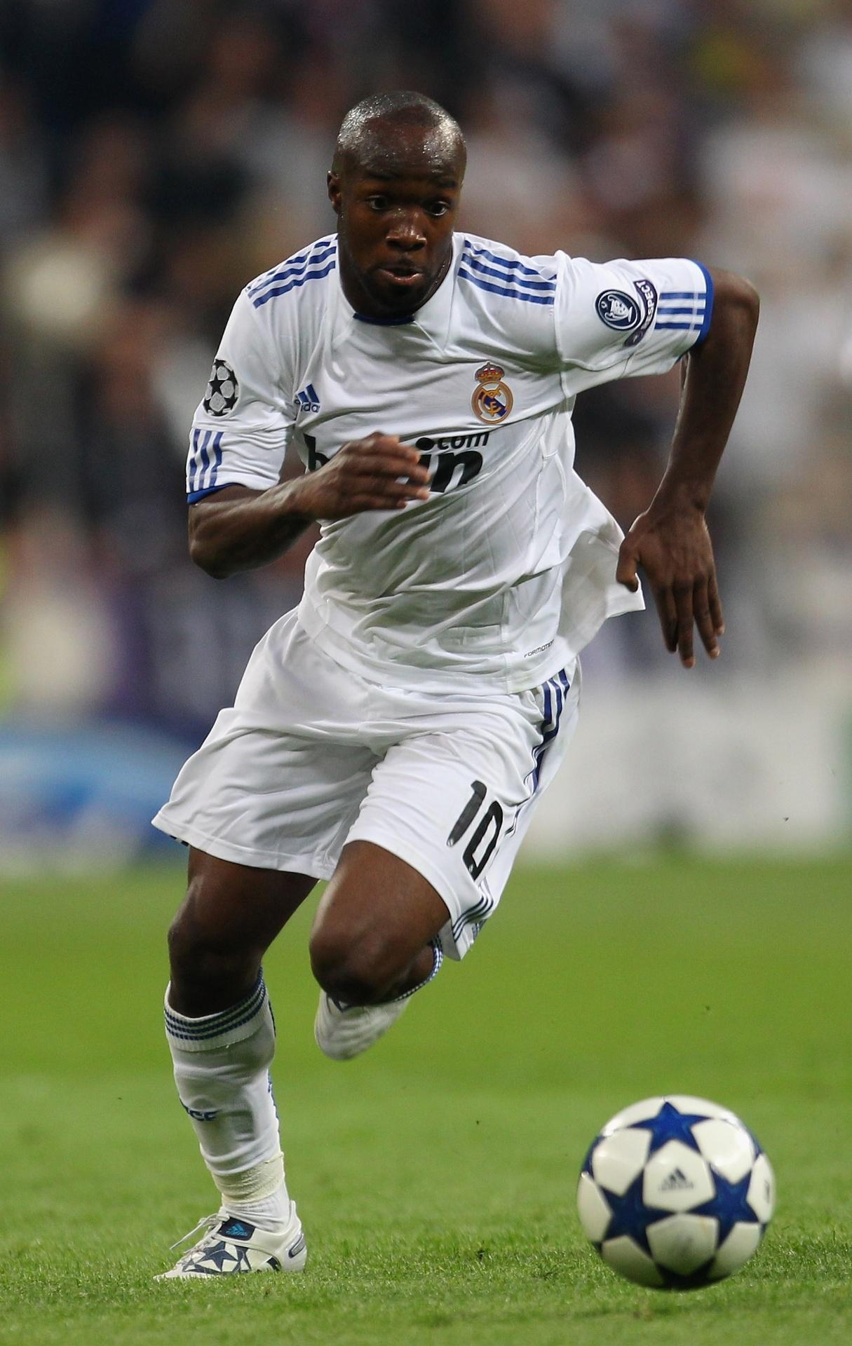 Lassana Diarra pelo Real Madrid
