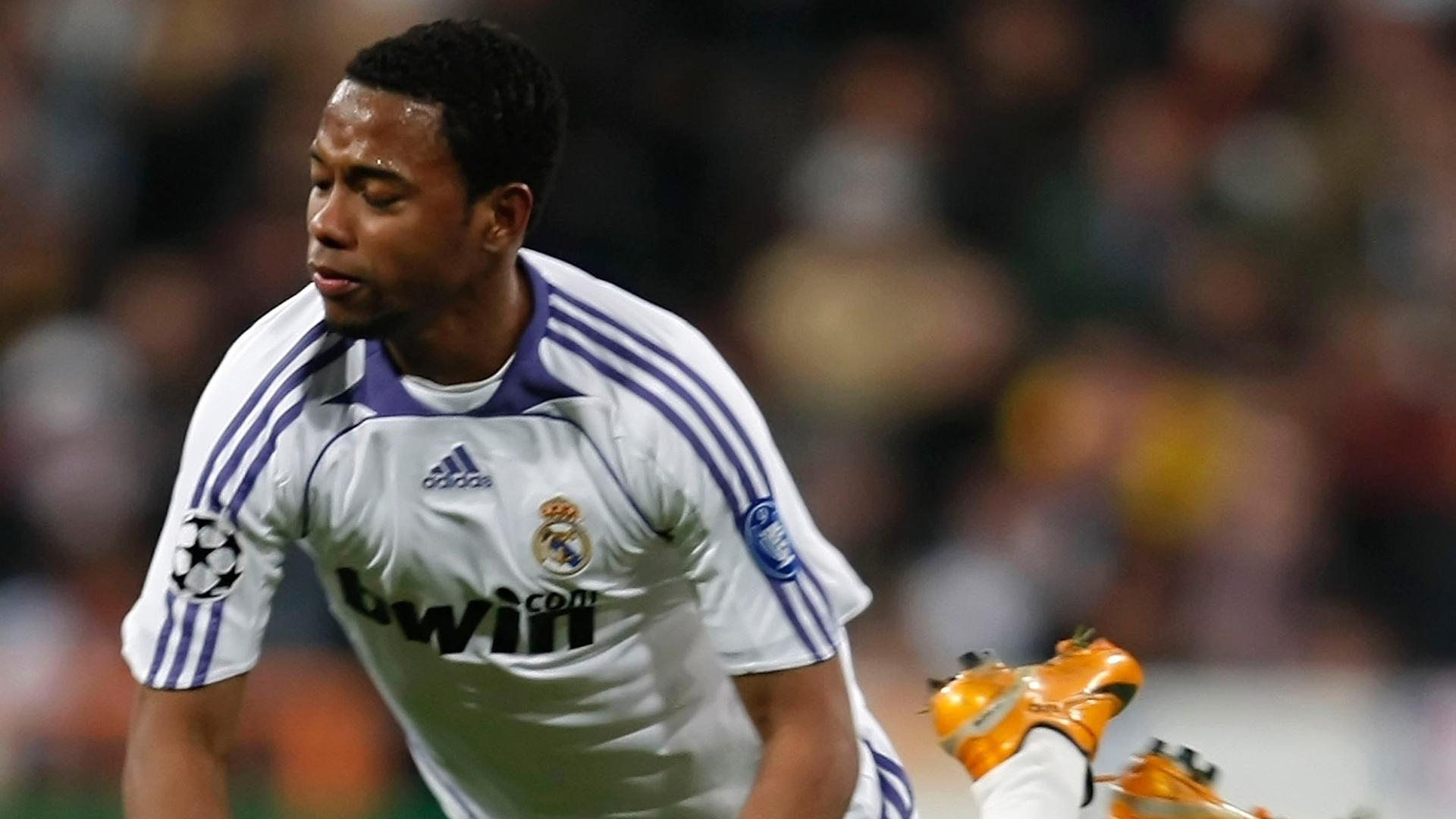 Robinho pelo Real Madrid
