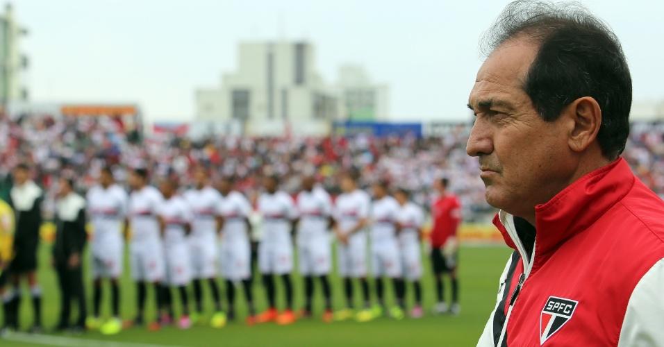 Muricy Ramalho não contou com Pato, Ganso e Alvaro Pereira na partida contra o Figueirense