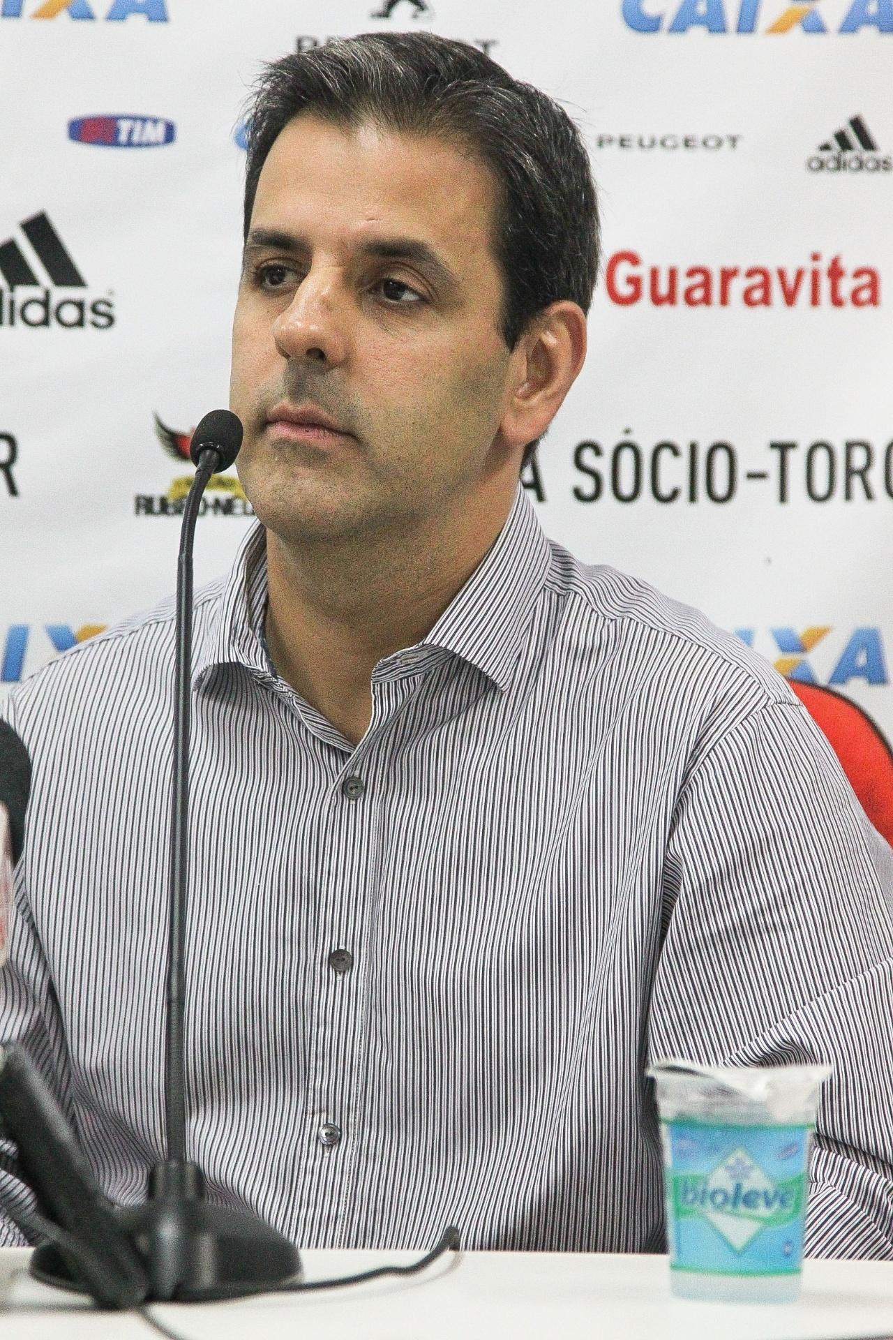 Alexandre Wrobel, ex-vice de patrimônio e atual vice-presidente de futebol do Flamengo