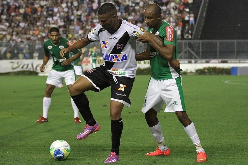 09.set.2014 - Jogo entre Vasco e Luverdense pela 21ª rodada da Série B do Campeonato Brasileiro
