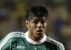 Emprestado pelo Palmeiras, Leandro fala do clube com o pai e com Veiga - Ernesto Rodrigues/Folhapress