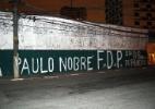 Muro de organizada do Palmeiras é pichado com protestos após goleada