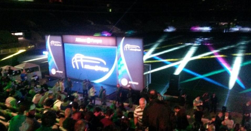 Evento-teste na Arena Palestra Itália marca o início do calendário de reinauguração do estádio do Palmeiras