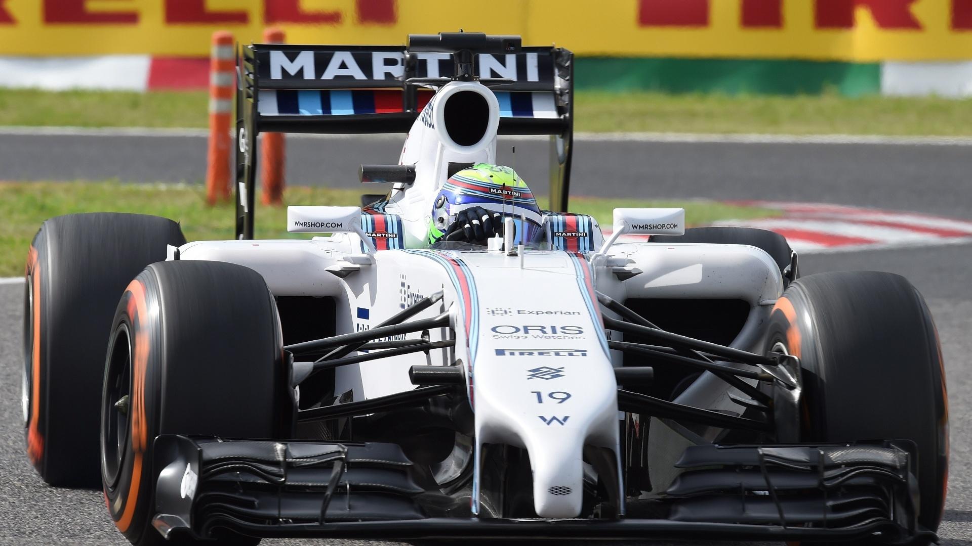 04.out.2014 - Felipe Massa conquista a quarta colocação do grid do GP do Japão
